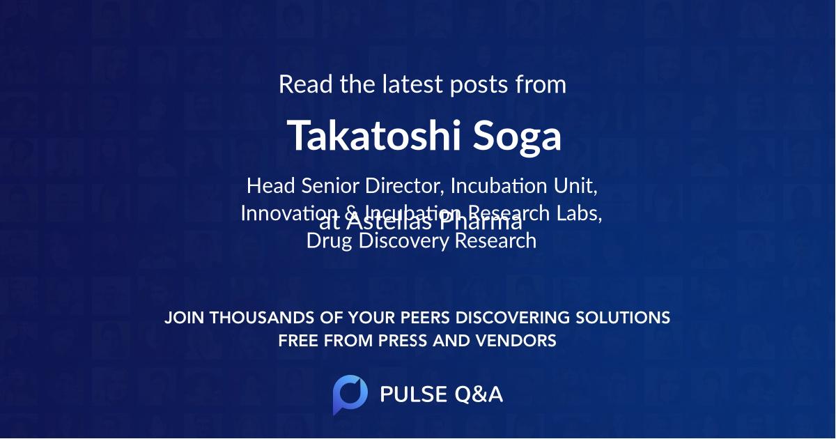 Takatoshi Soga