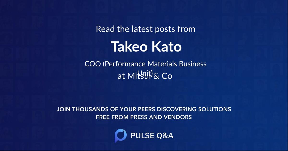 Takeo Kato