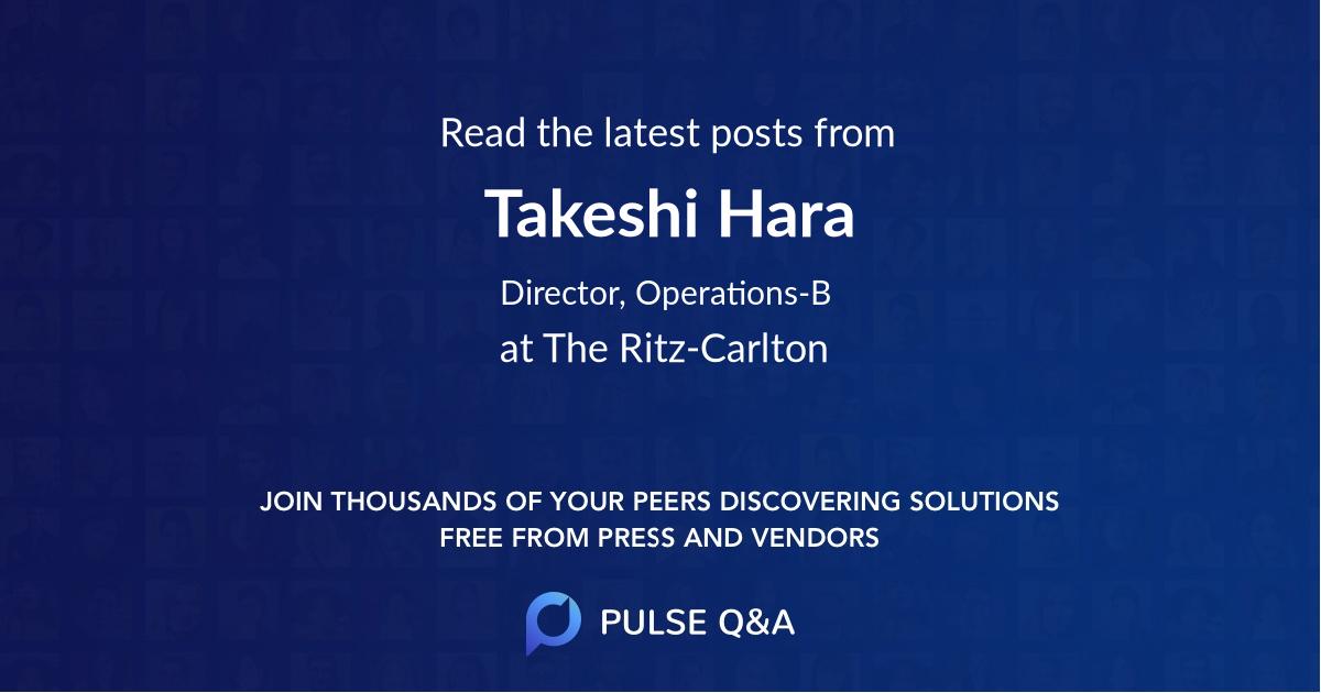 Takeshi Hara
