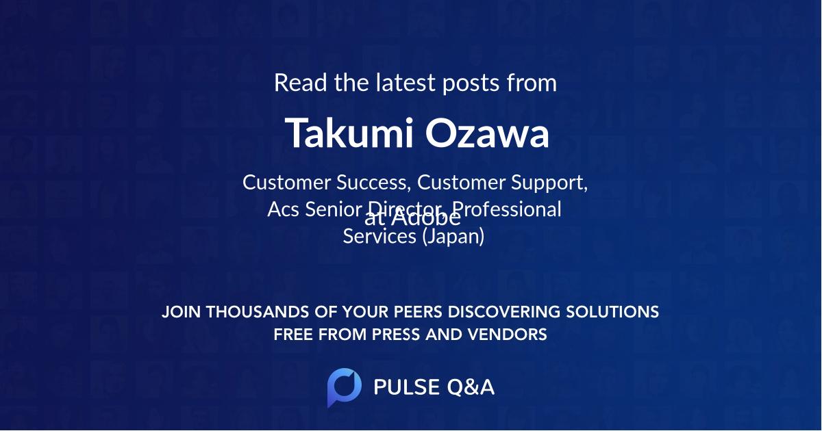 Takumi Ozawa