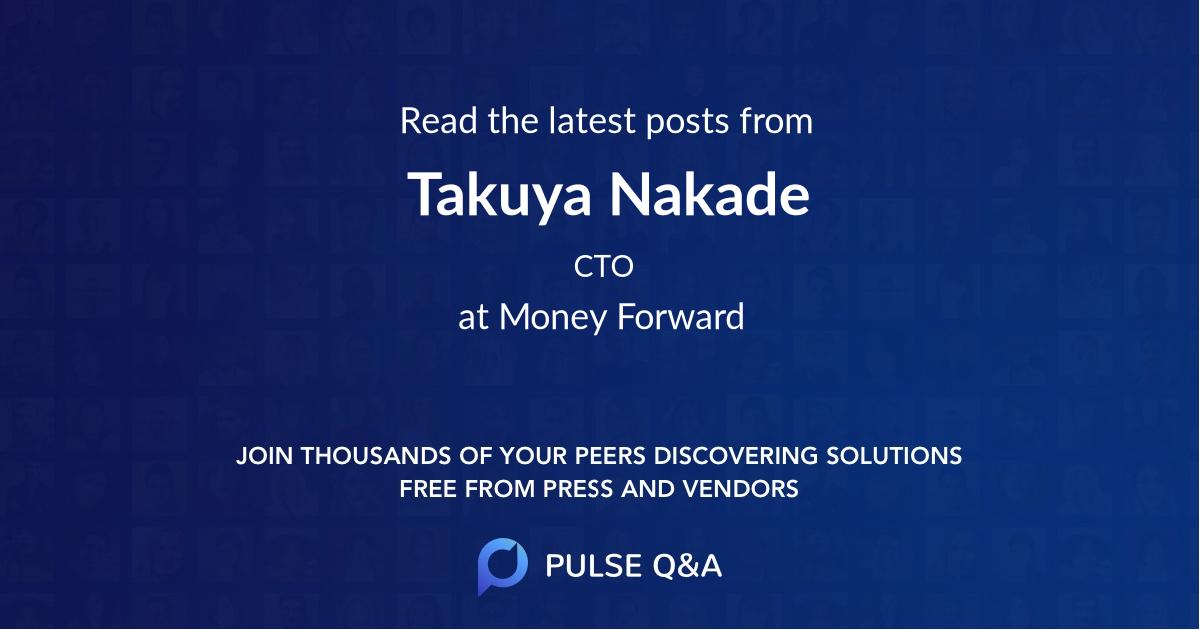 Takuya Nakade