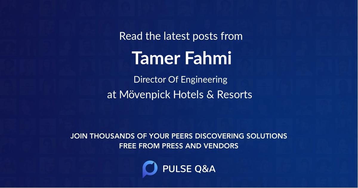 Tamer Fahmi