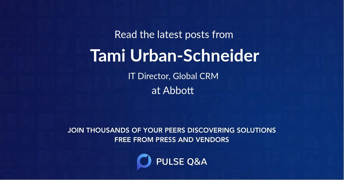 Tami Urban-Schneider