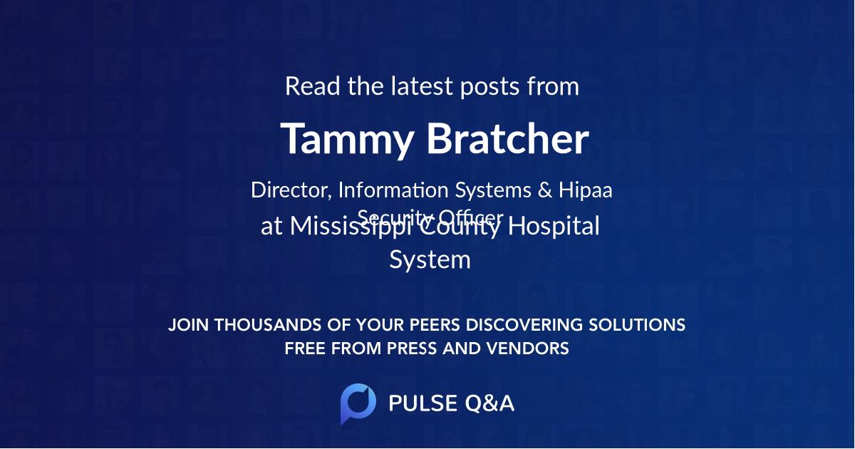 Tammy Bratcher