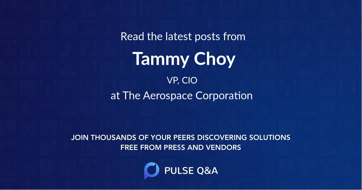 Tammy Choy