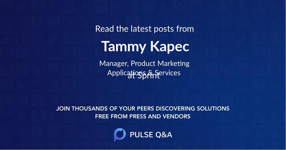 Tammy Kapec