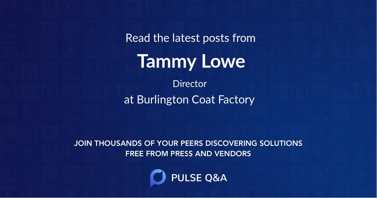 Tammy Lowe