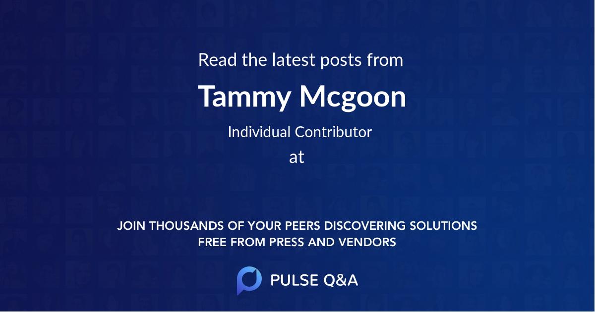 Tammy Mcgoon