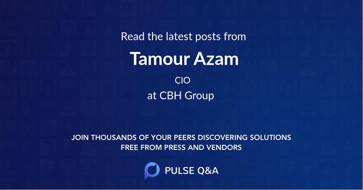 Tamour Azam