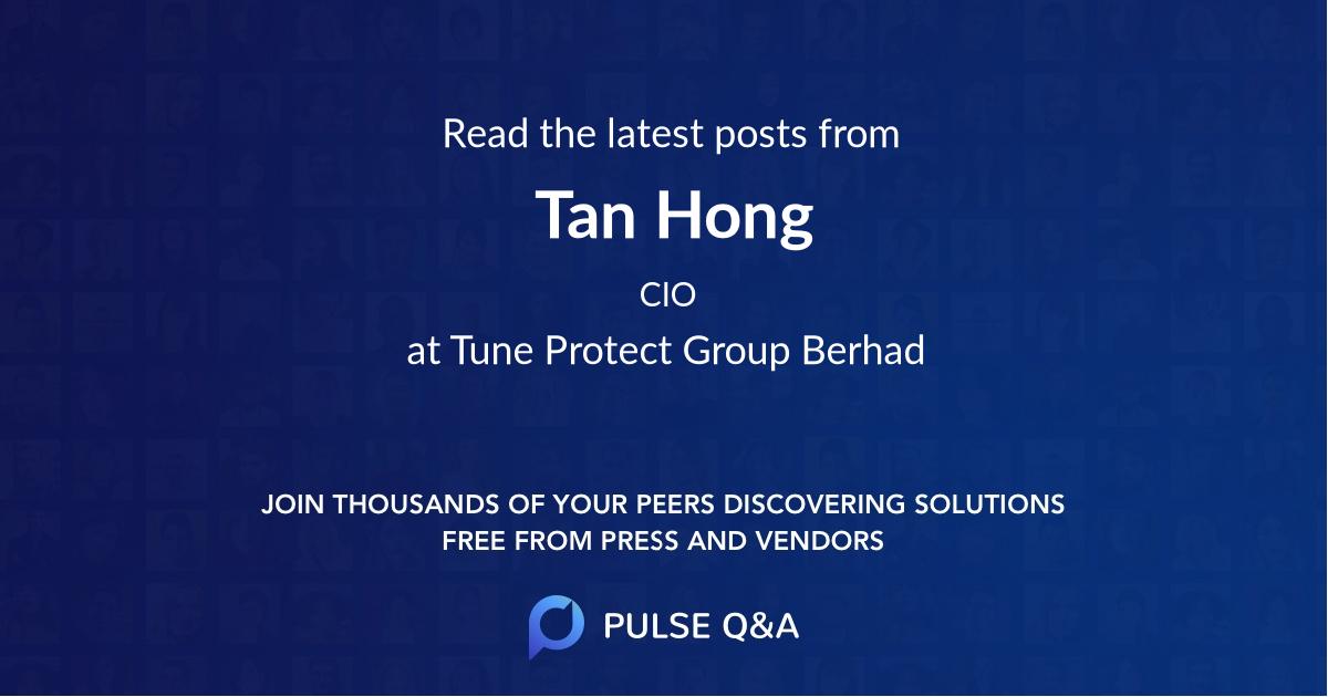 Tan Hong