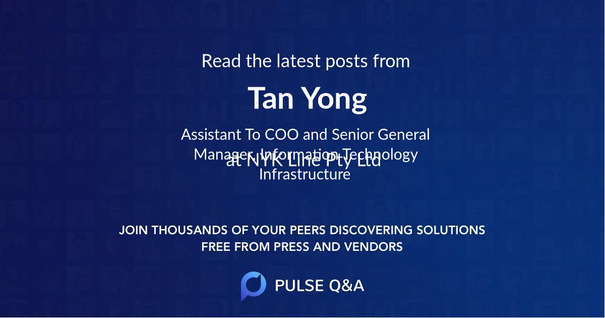 Tan Yong