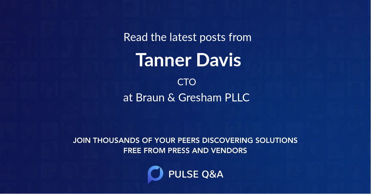 Tanner Davis