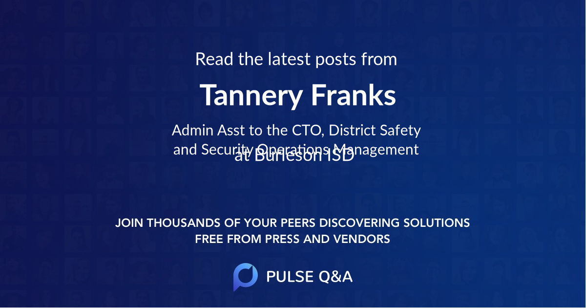 Tannery Franks