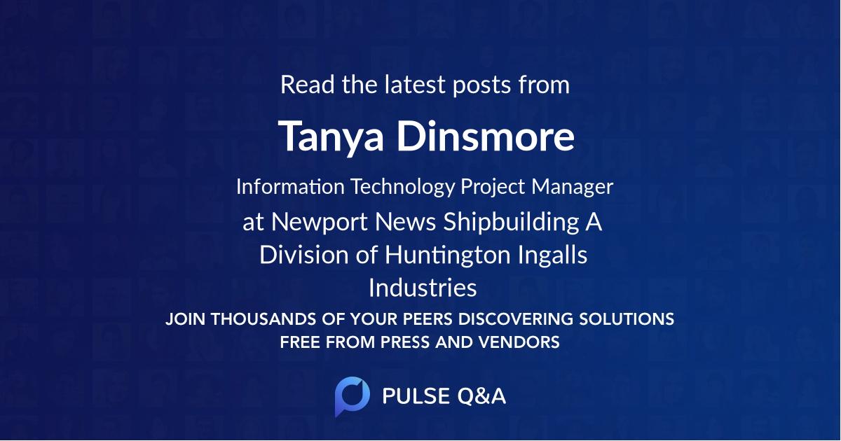 Tanya Dinsmore