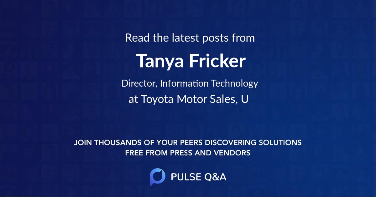 Tanya Fricker