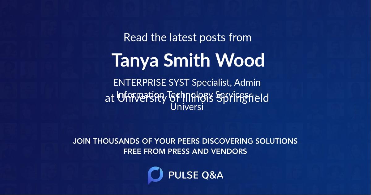 Tanya Smith Wood