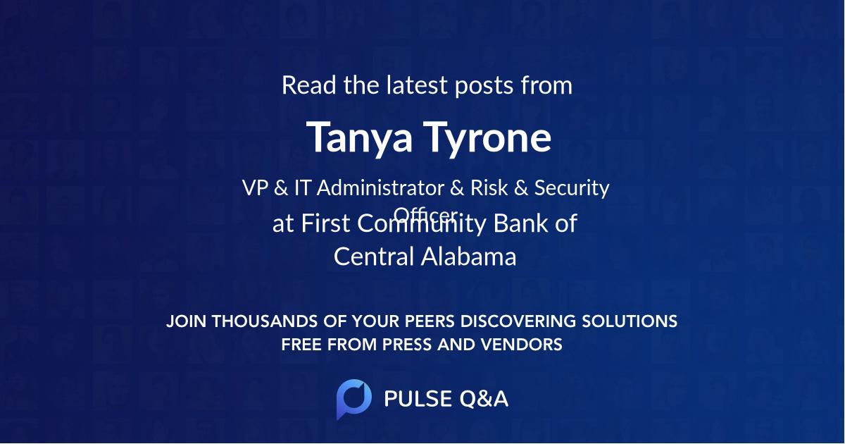 Tanya Tyrone