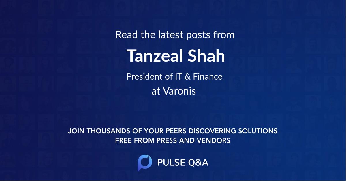 Tanzeal Shah