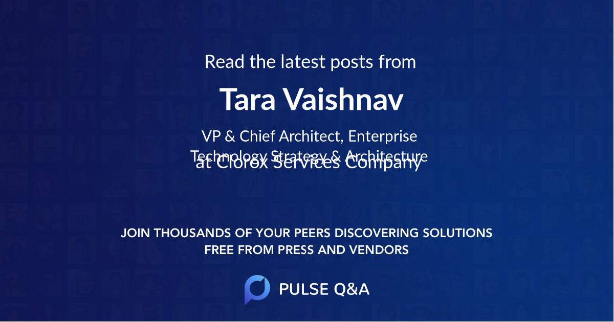 Tara Vaishnav