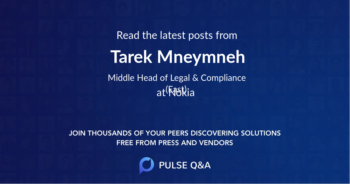 Tarek Mneymneh