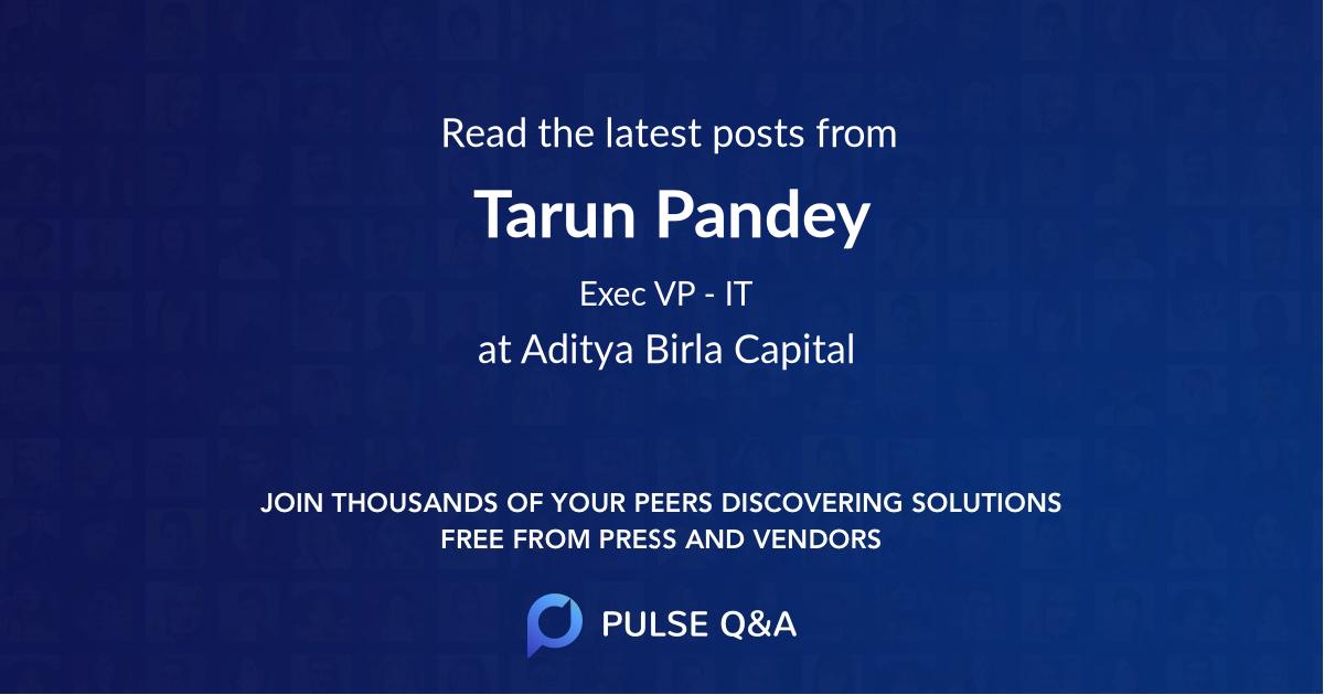 Tarun Pandey