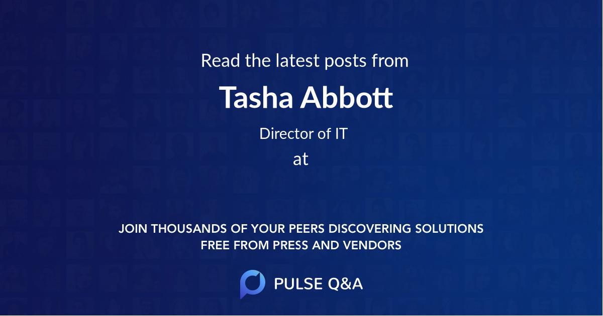 Tasha Abbott