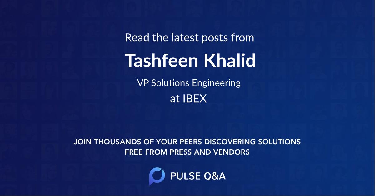 Tashfeen Khalid