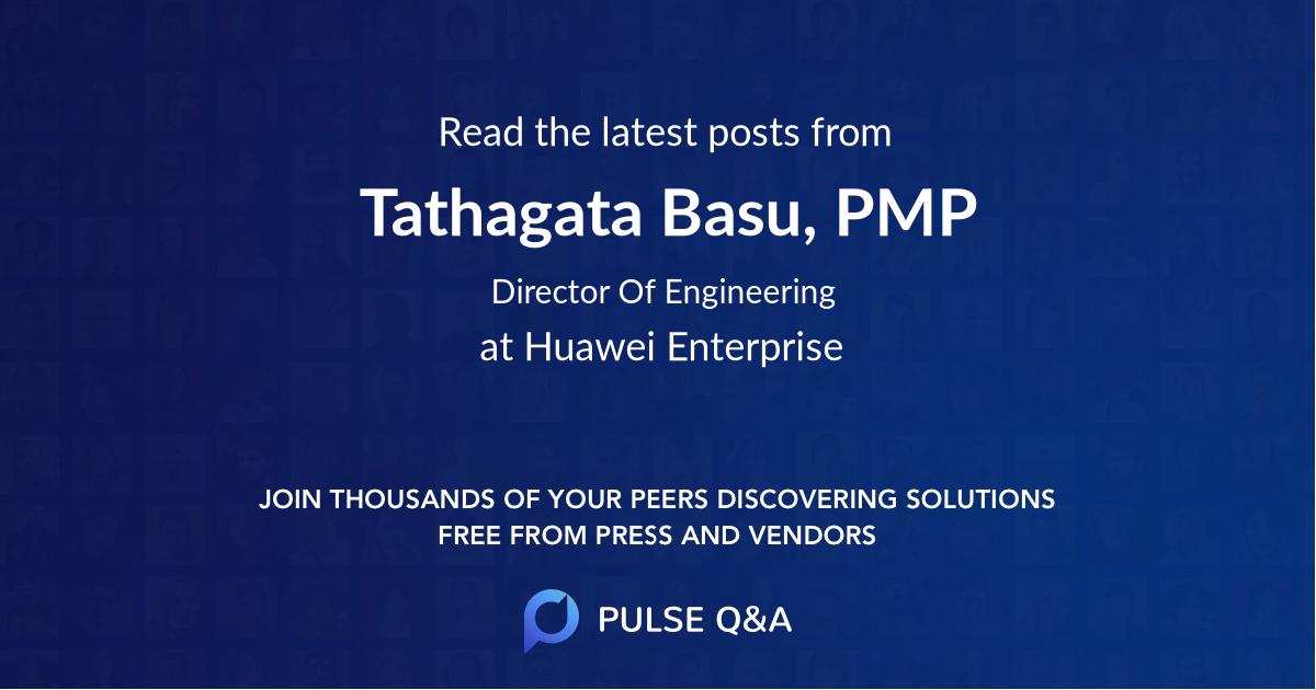 Tathagata Basu, PMP