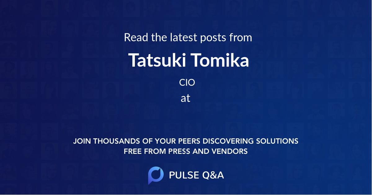 Tatsuki Tomika