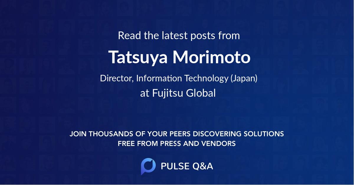 Tatsuya Morimoto