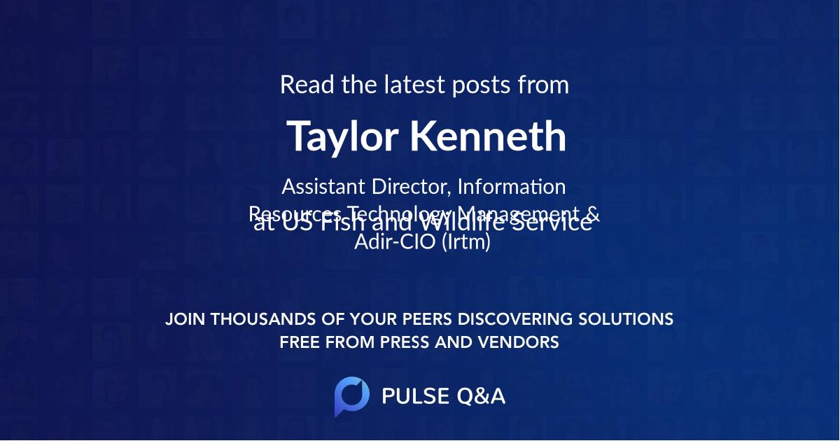 Taylor Kenneth