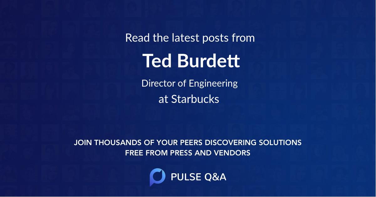 Ted Burdett