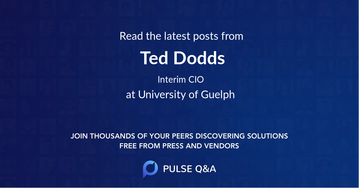 Ted Dodds