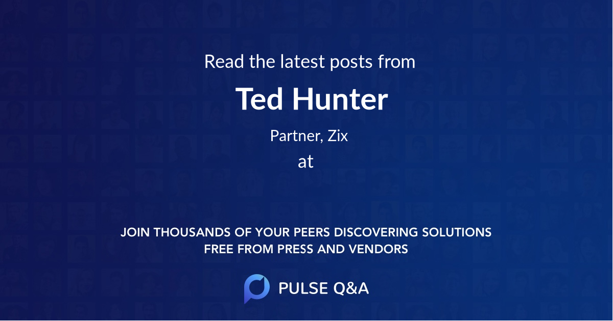 Ted Hunter