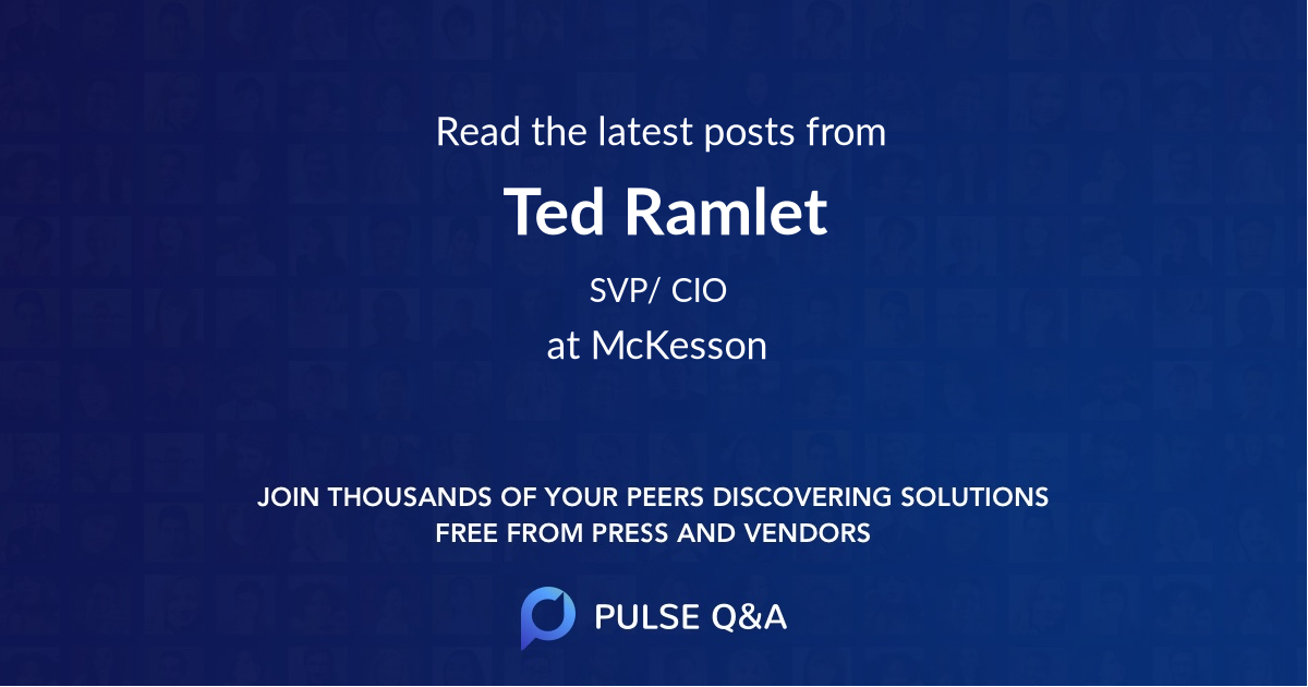 Ted Ramlet
