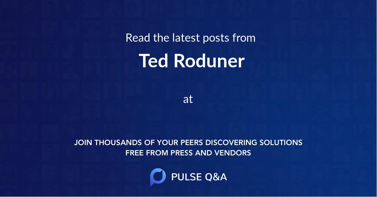 Ted Roduner