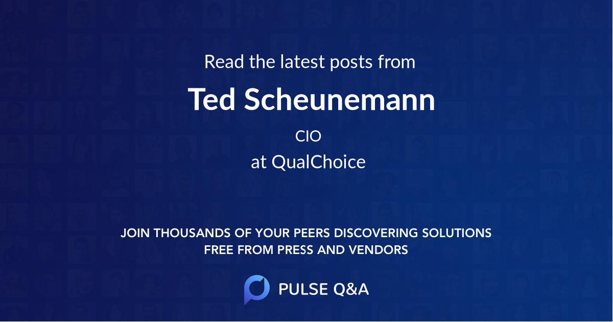Ted Scheunemann