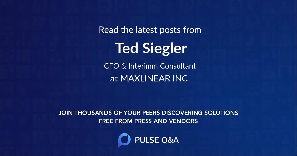 Ted Siegler