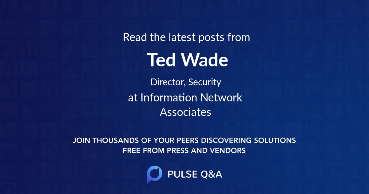 Ted Wade