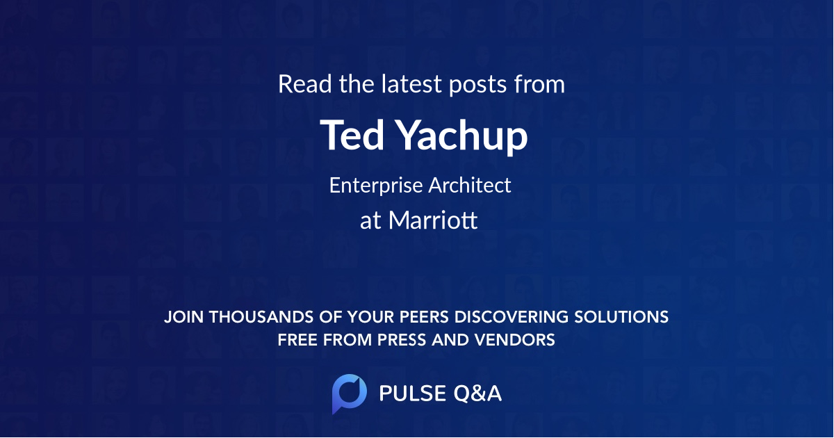 Ted Yachup