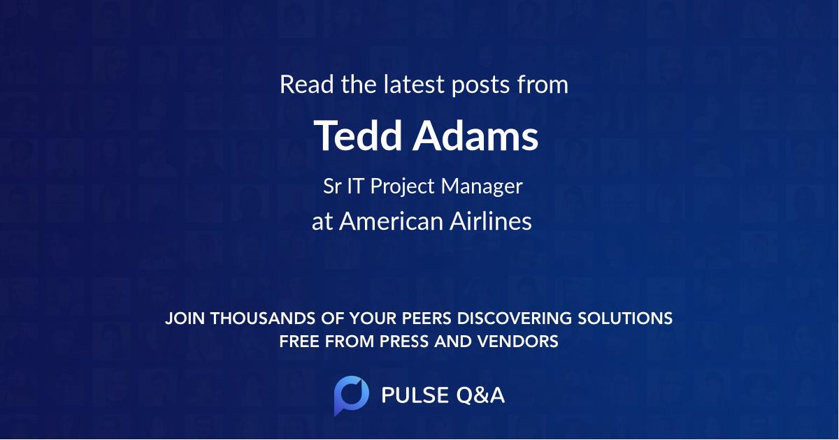 Tedd Adams