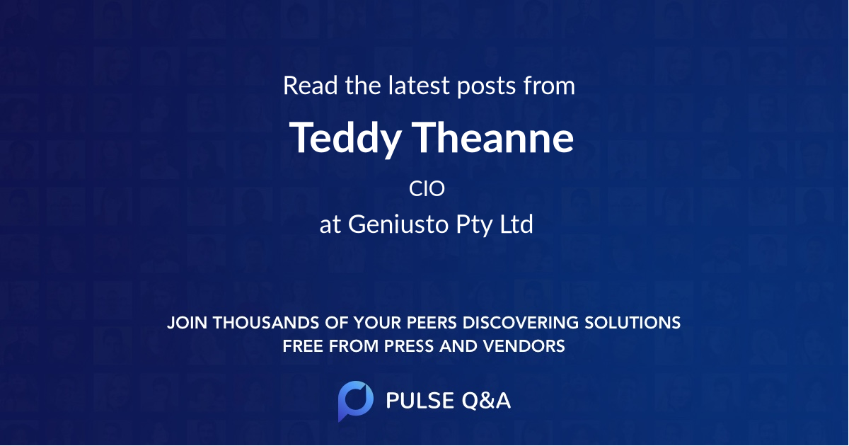 Teddy Theanne