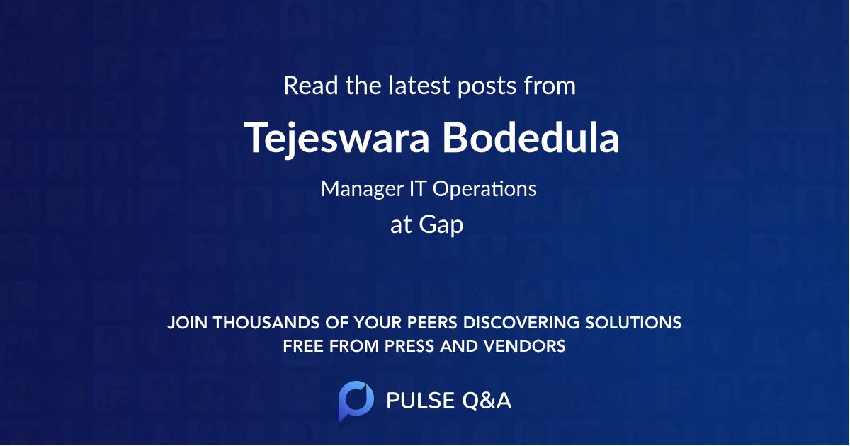 Tejeswara Bodedula
