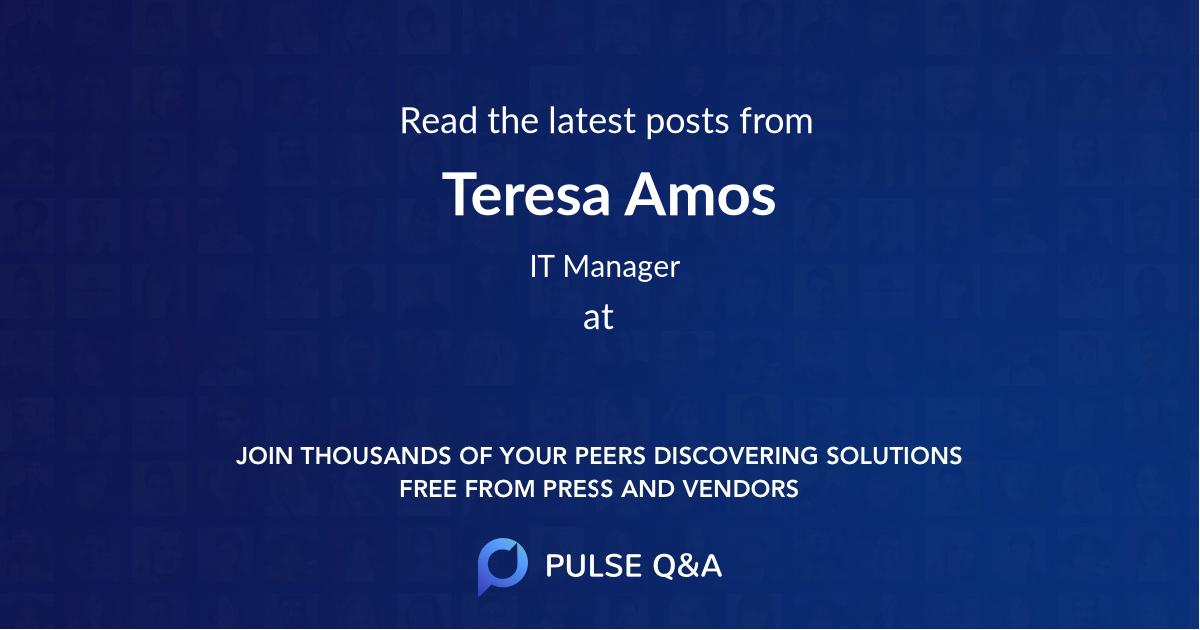 Teresa Amos