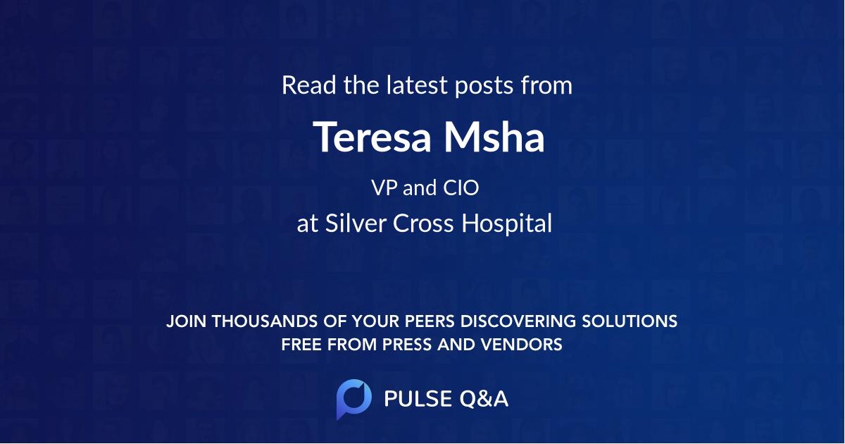 Teresa Msha
