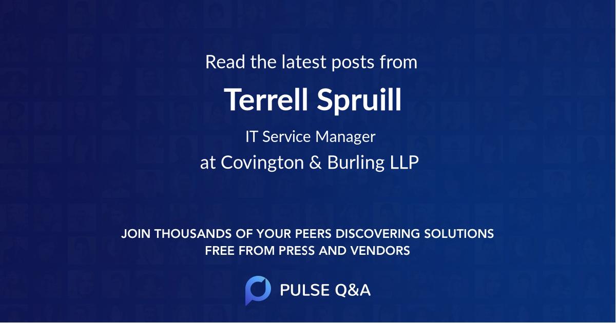 Terrell Spruill