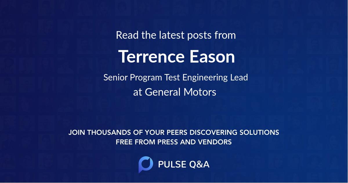 Terrence Eason