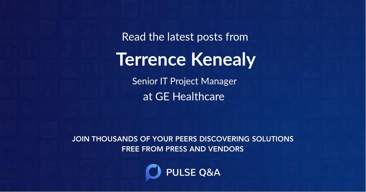 Terrence Kenealy