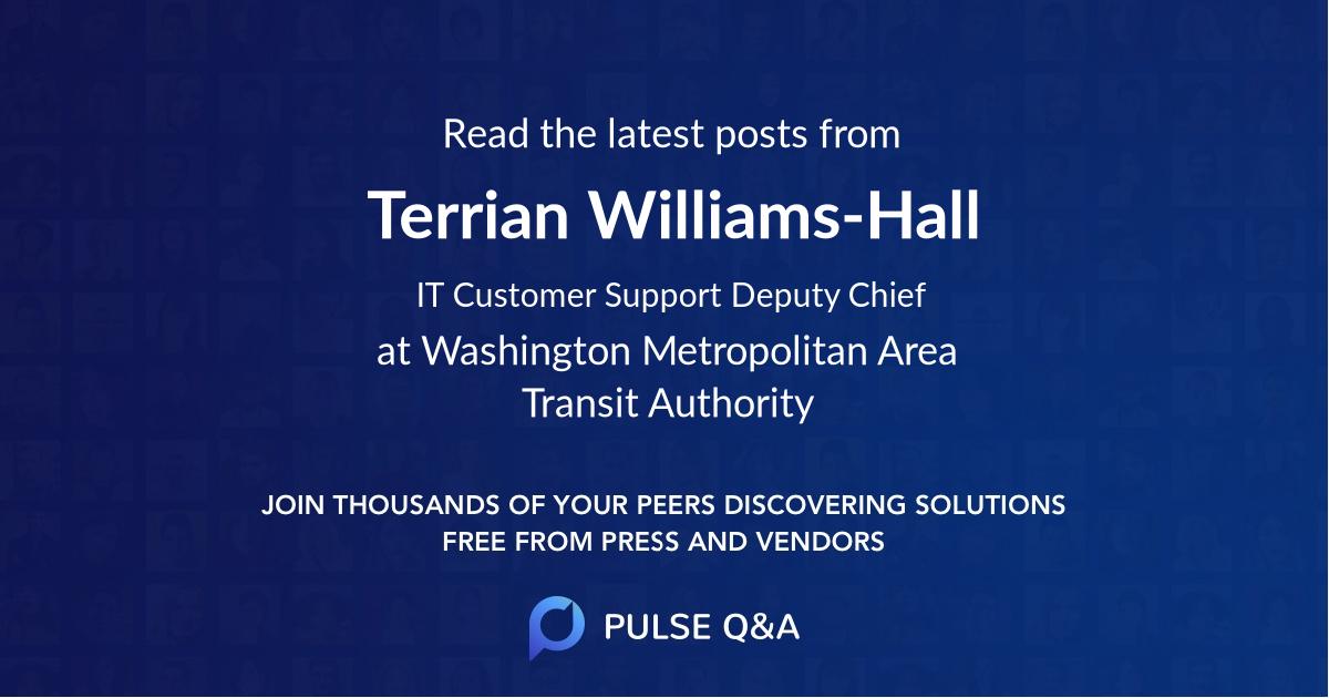 Terrian Williams-Hall