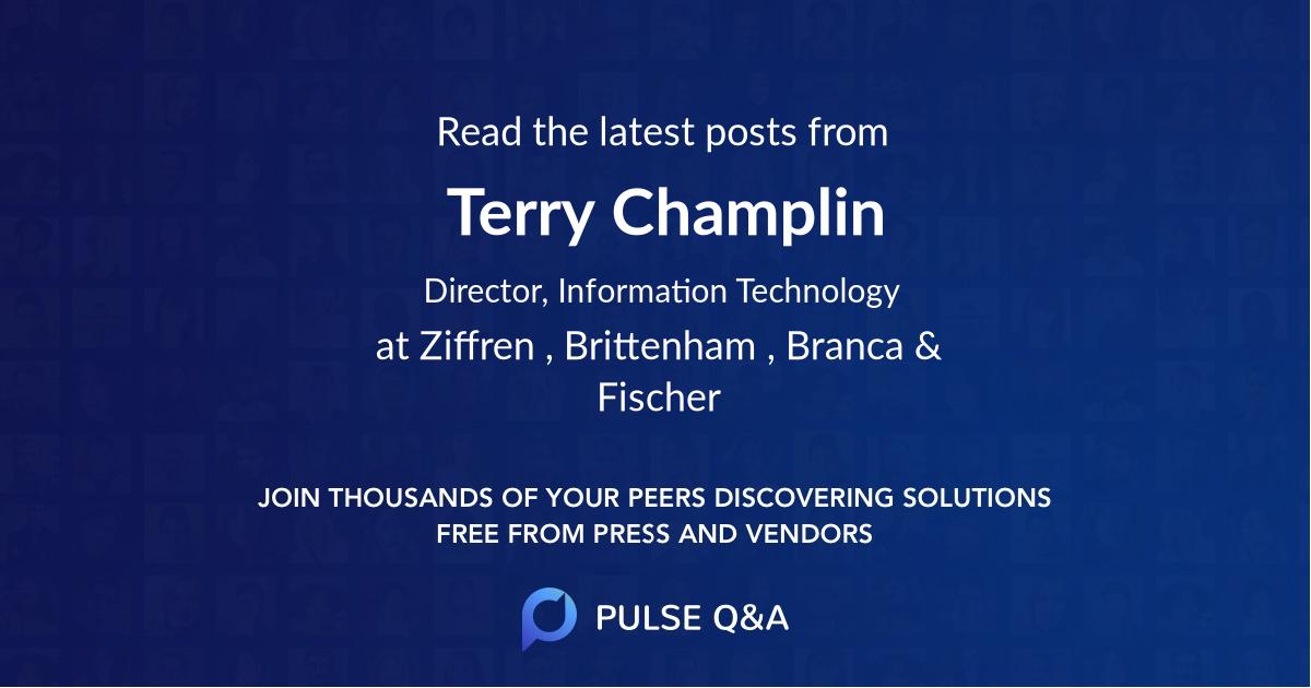 Terry Champlin